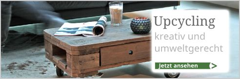 Kreative Upcycling-Produkte