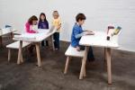 Mitwachsender Kindertisch