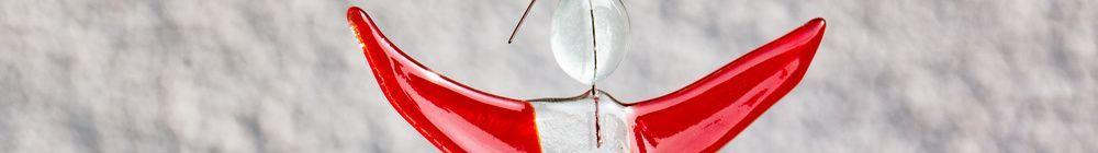 Weihnachten: Deko aus Glas