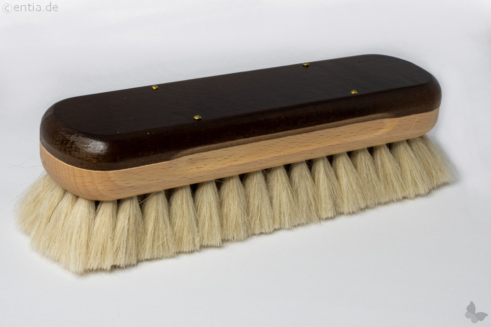 Glanzbürste mit hellem Yak-Haar