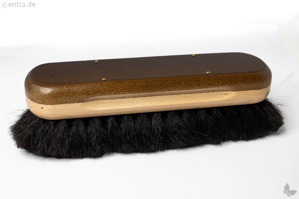 Glanzbürste mit dunklem Yak-Haar