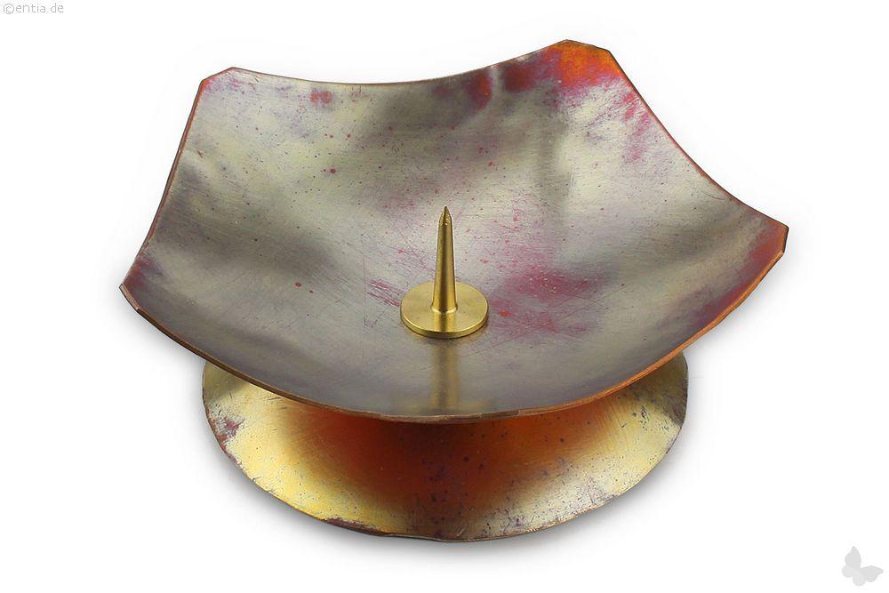 Kerzenleuchter Fünfeck Kupfer