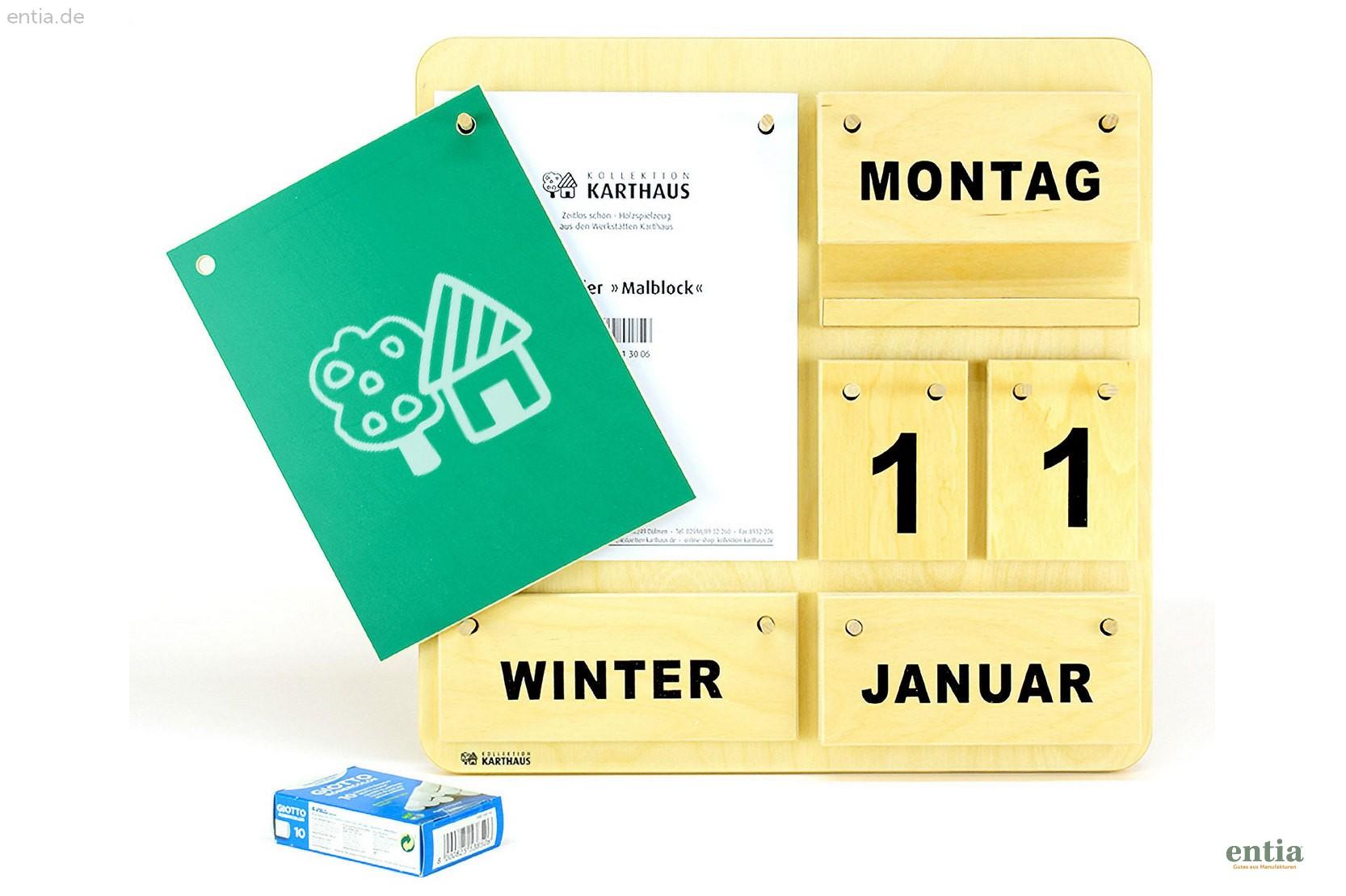 """Dauer-Kalender """"Creativ D"""""""