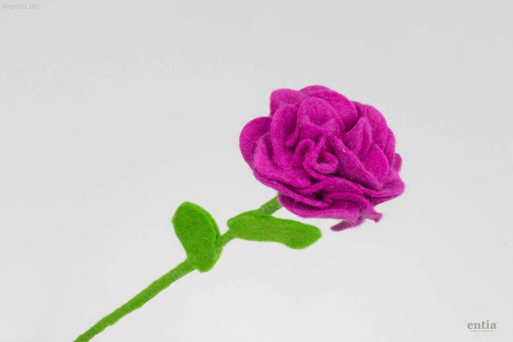 Filzblume pink