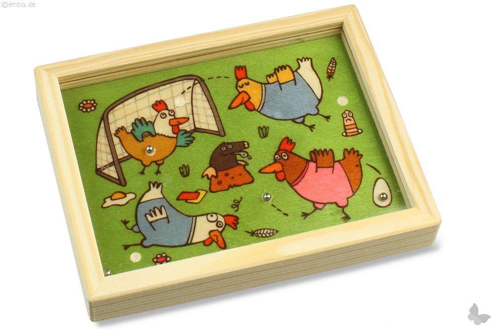 Geduldspiel Hühnerfussball