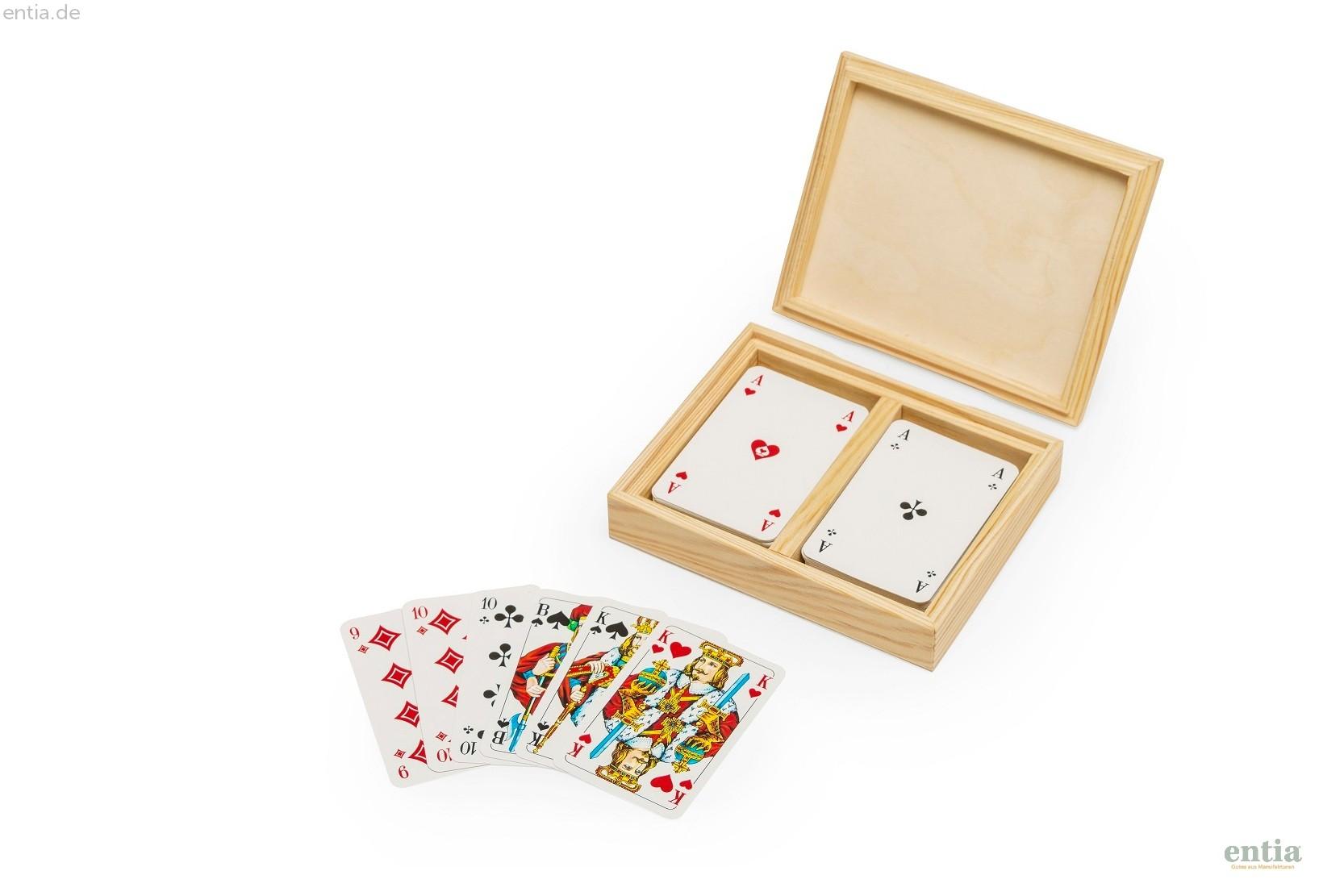 Kartenbox Rommé