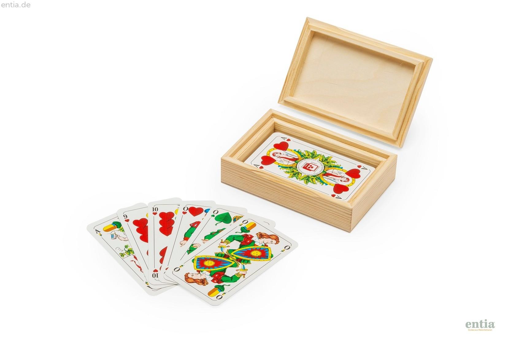 Kartenbox Schafkopf