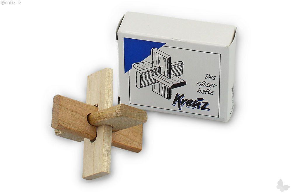"""Mini-3D-Puzzle """"Das rätselhafte Kreuz"""""""