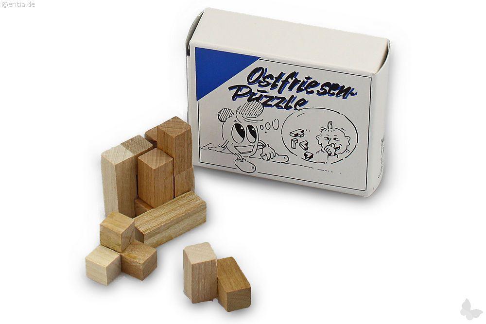 """Mini-3D-Puzzle """"Ostfriesenpuzzle"""""""