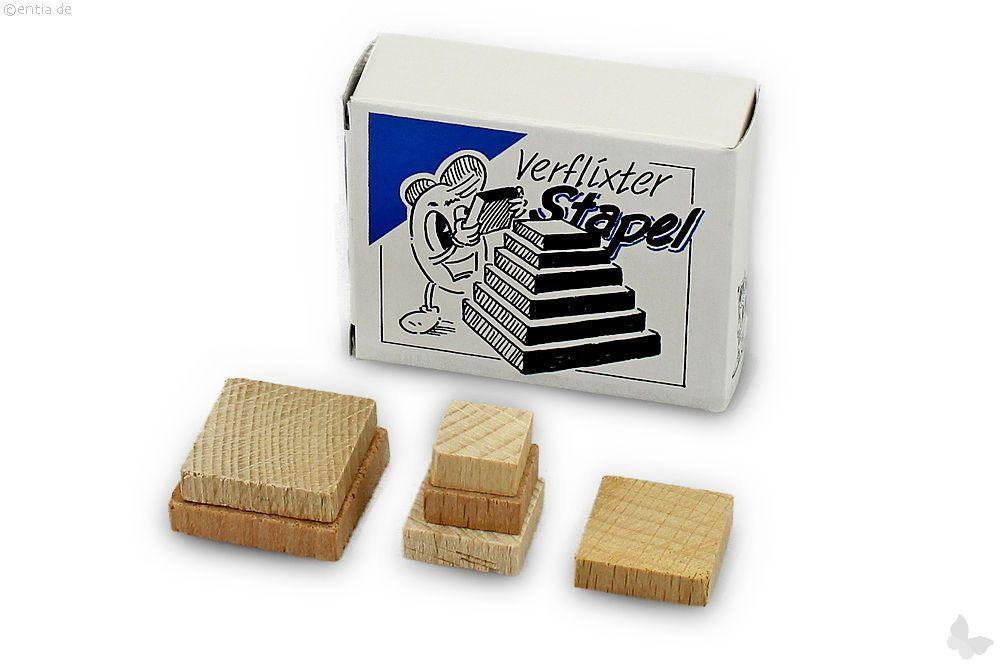 "Mini-3D-Puzzle ""Verflixter Stapel"""