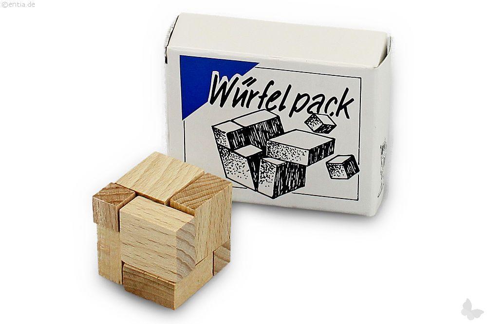 """Mini-3D-Puzzle """"Würfelpack"""""""