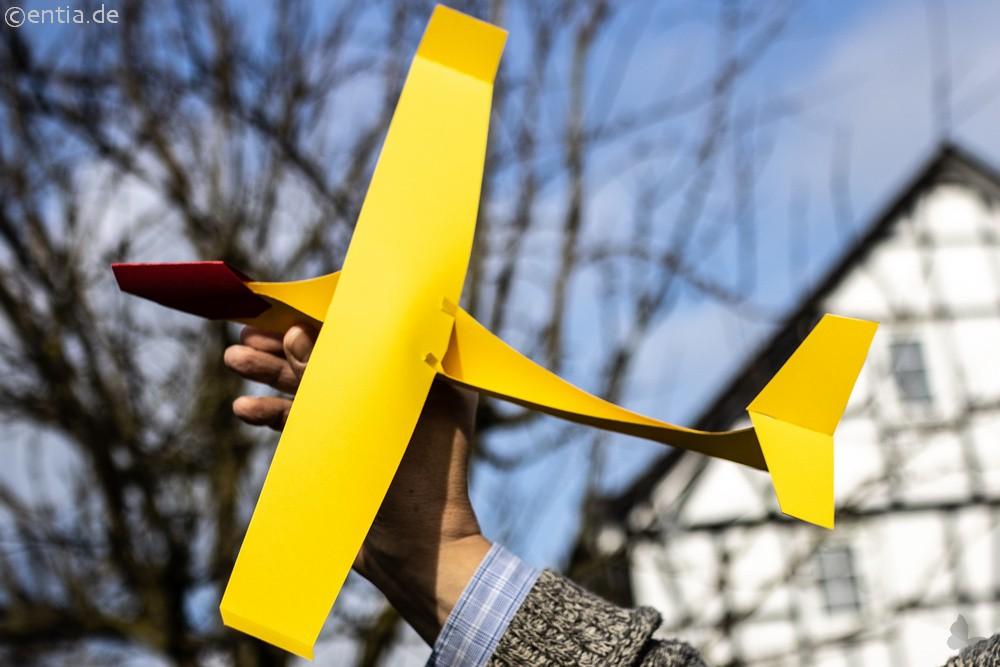 Bastelset Segelflugzeuge