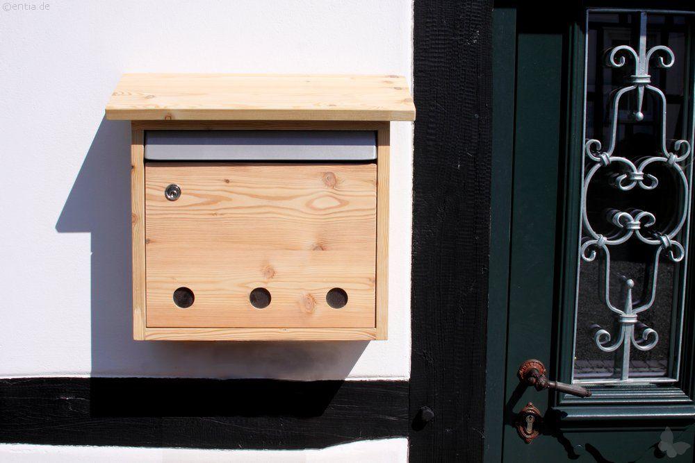 Briefkasten Lärchenholz