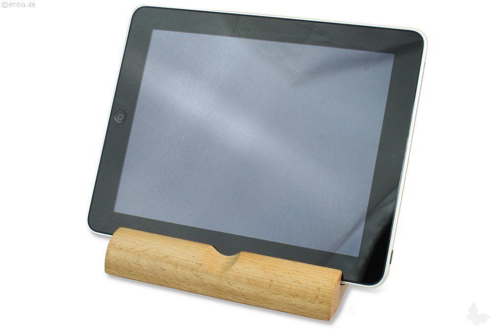 Tablet-PC-Ständer, Buche