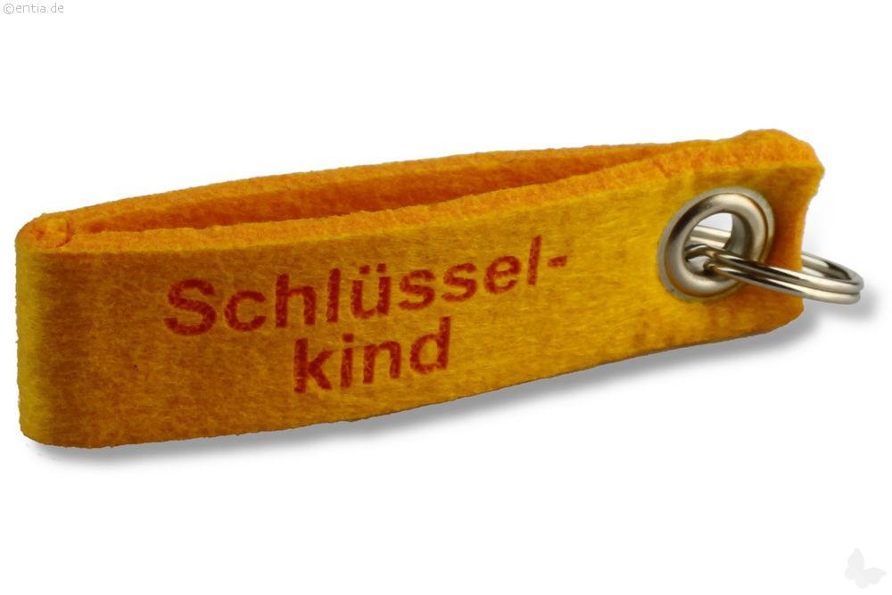 "Filz-Schlüsselanhänger ""Schlüsselkind"""