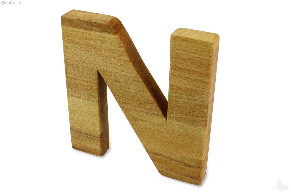 Holz-Buchstabe N