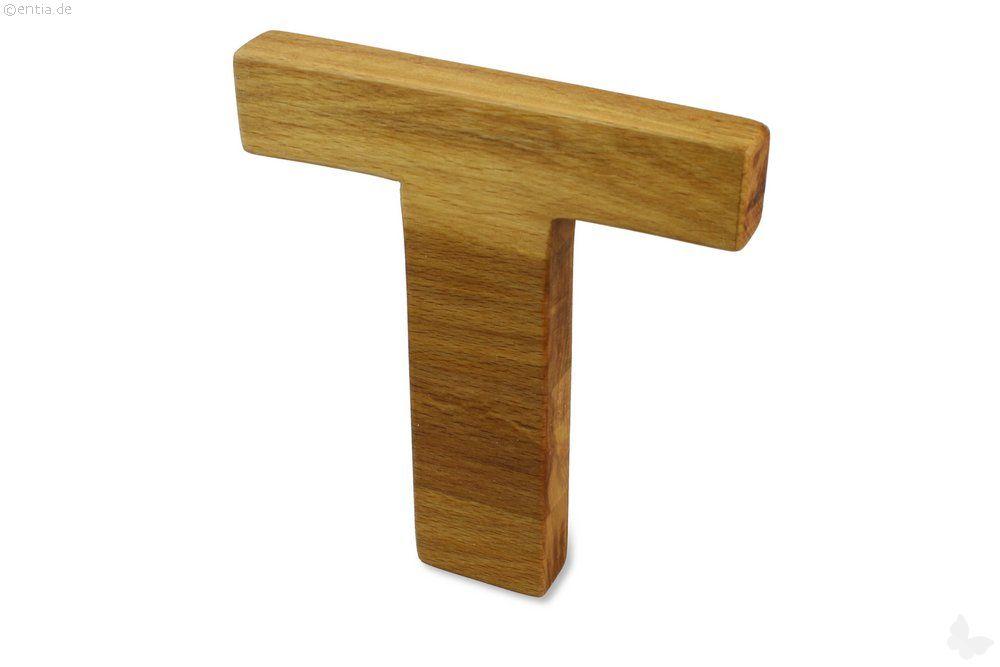 Holz-Buchstabe T