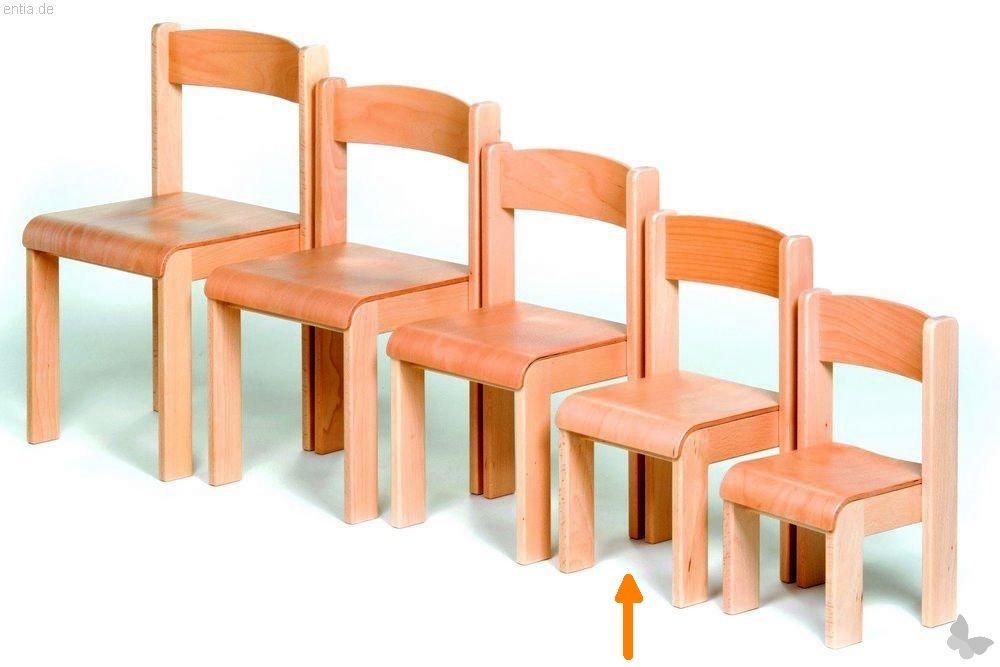 """Kindermöbel Stapelstuhl """"Bärenstark"""" - Sitzhöhe 26cm"""