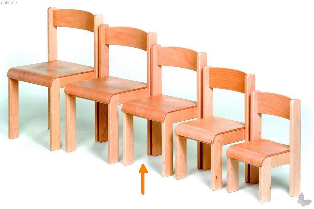 """Kindermöbel Stapelstuhl """"Bärenstark"""" - Sitzhöhe 31 cm"""
