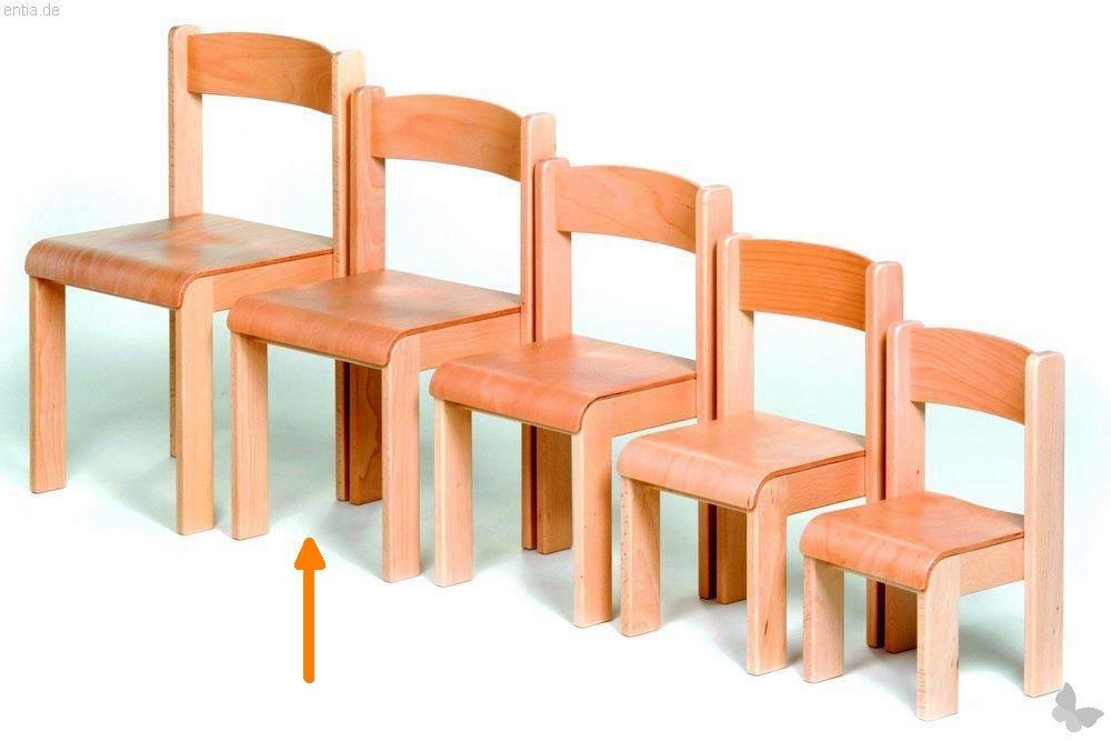 """Kindermöbel Stapelstuhl """"Bärenstark"""" - Sitzhöhe 35 cm"""