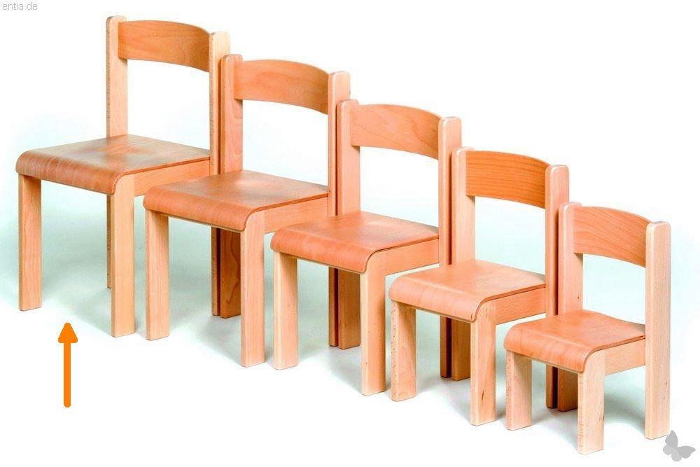 """Kindermöbel Stapelstuhl """"Bärenstark"""" - Sitzhöhe 38 cm"""