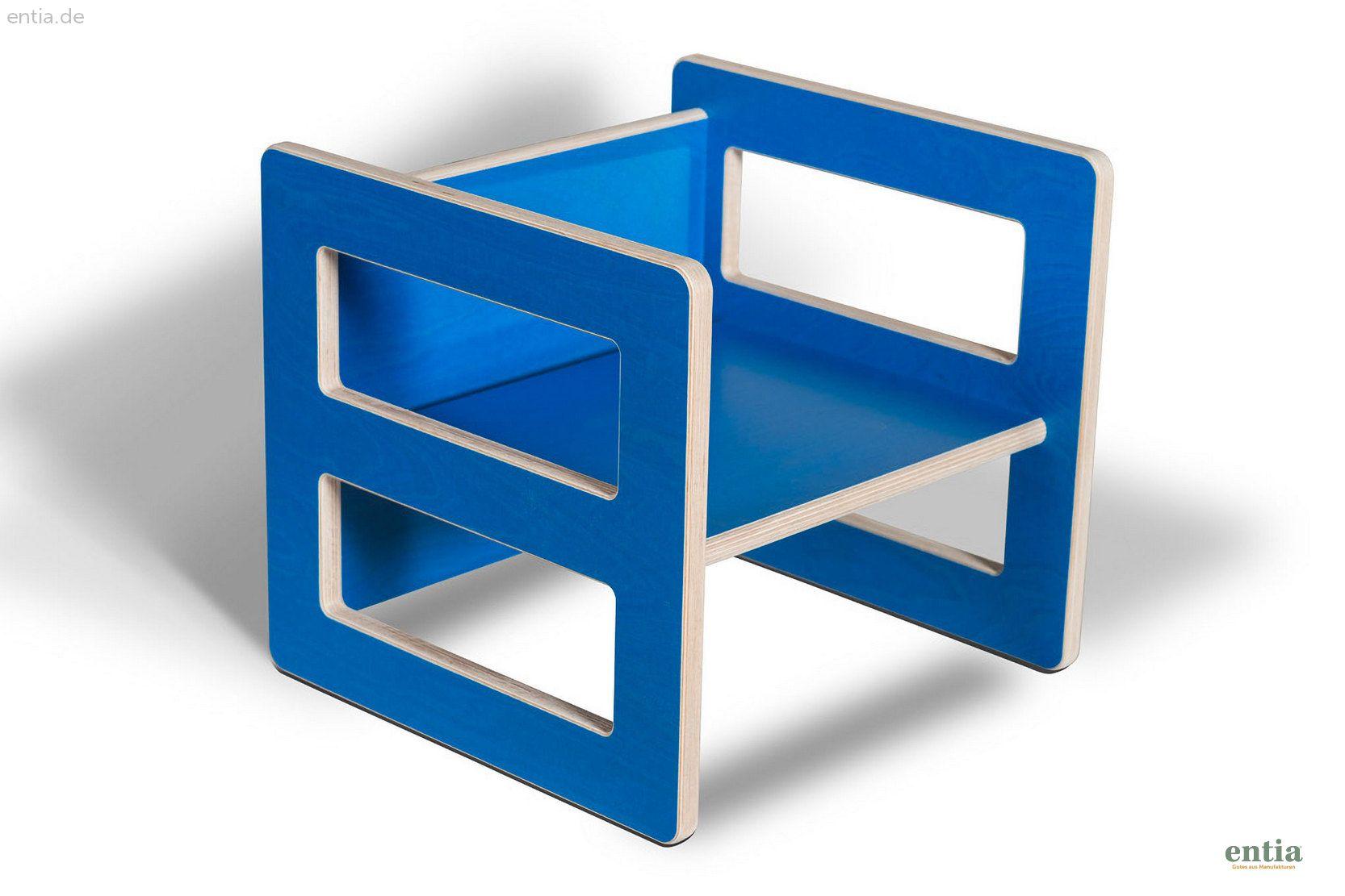 Kindermöbel Wendehocker blau