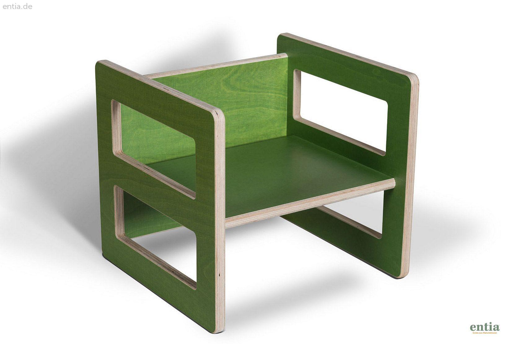 Kindermöbel Wendehocker grün