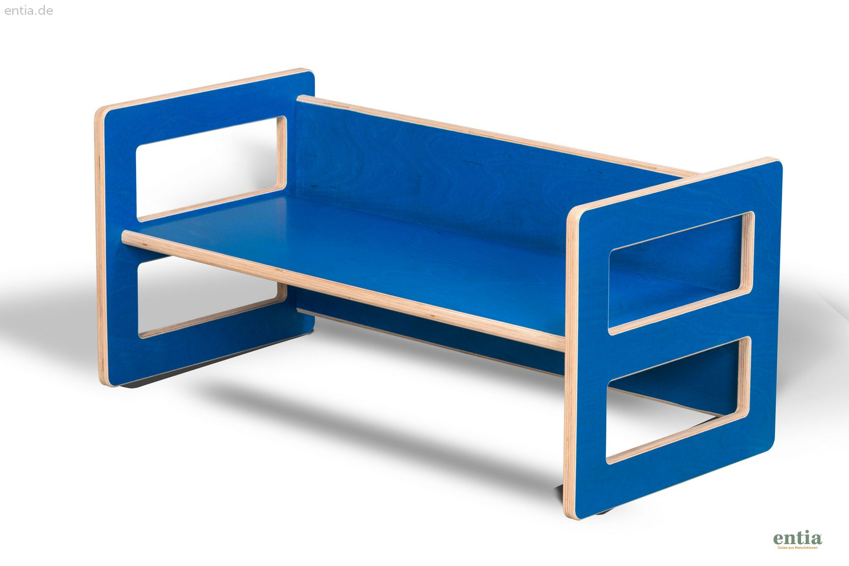 Kindermöbel Wendebank blau