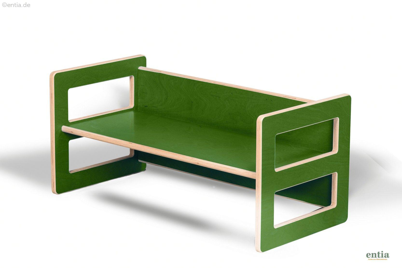 Kindermöbel Wendebank grün