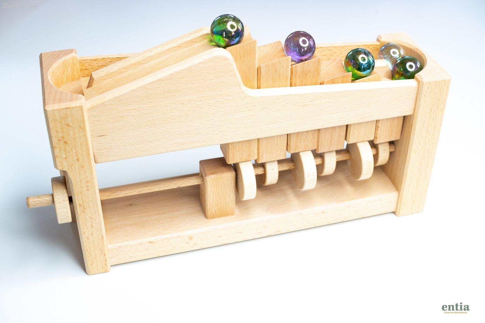 Treppenkugelbahn