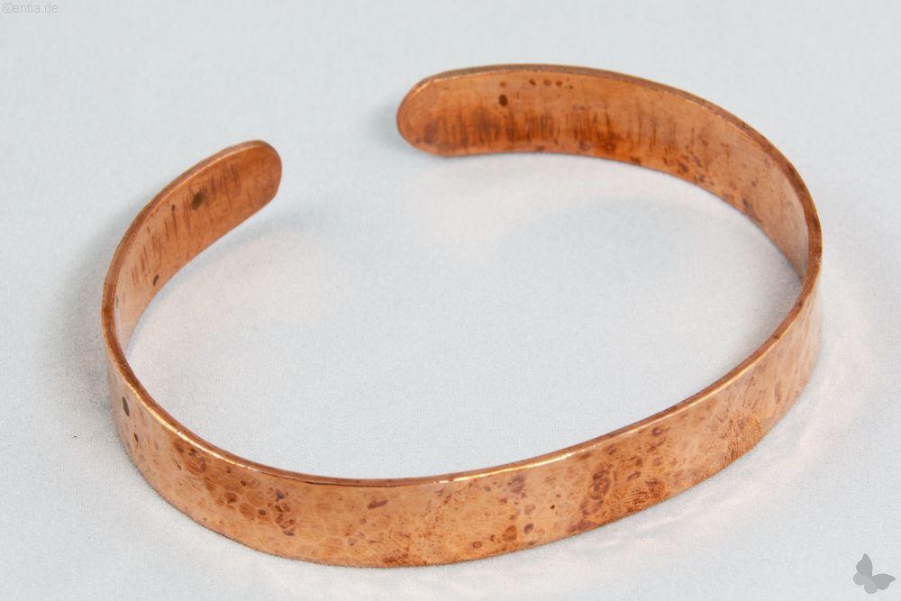 Kupfer-Armreif schmal