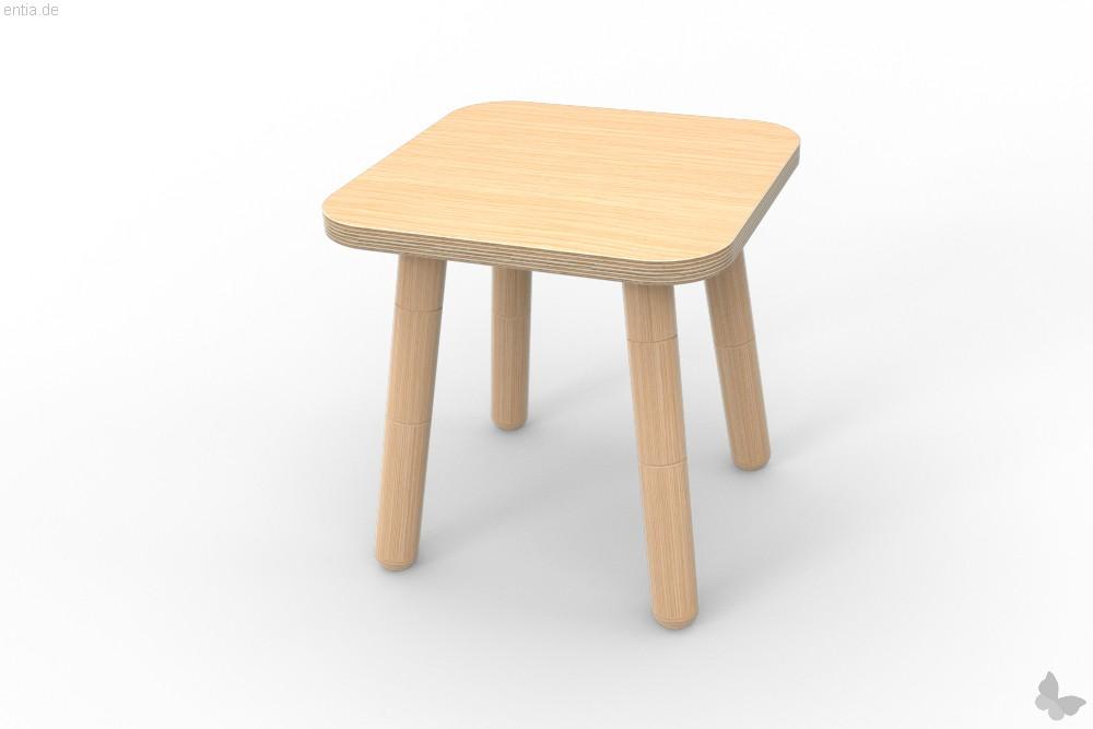 """growing table"" Hocker 42x42cm - Buche"