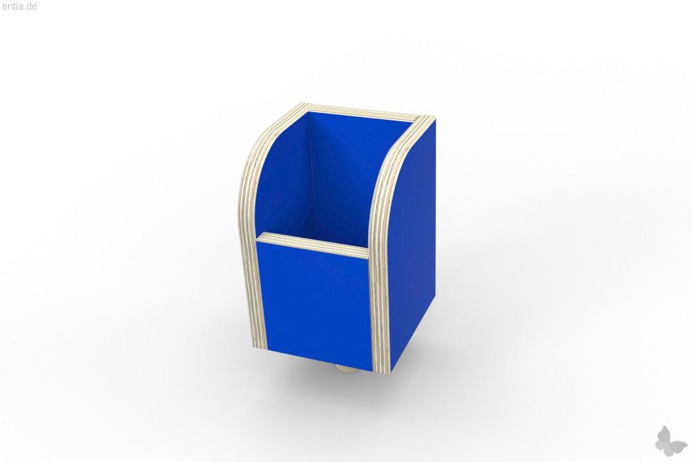 """growing table"" Stiftebox - enzianblau"