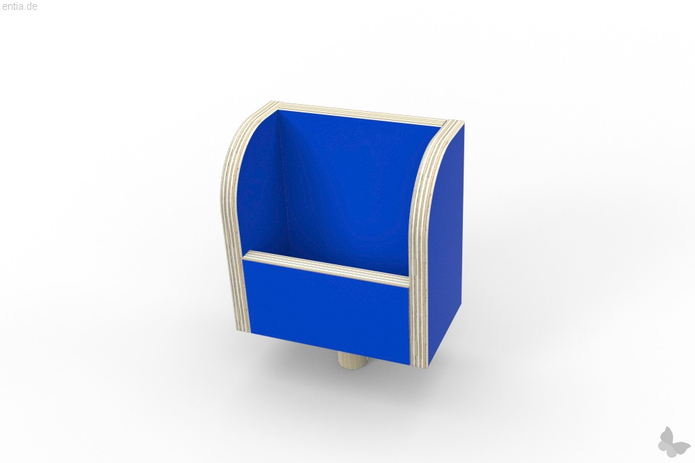 """growing table"" Zettelbox - enzianblau"