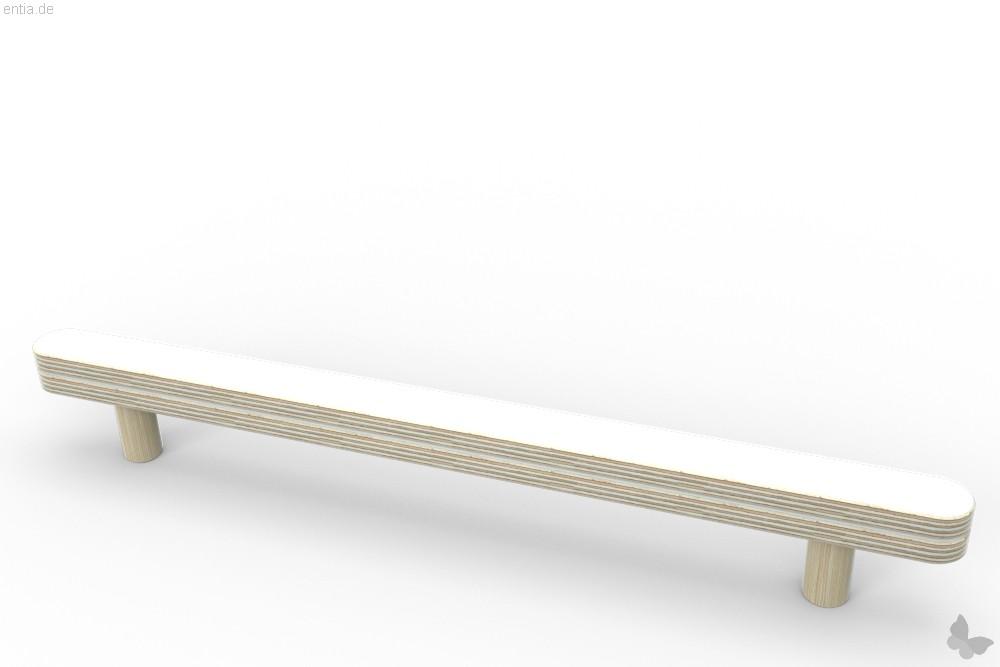 """""""growing table"""" Führung und Abreißschiene - reinweiss"""
