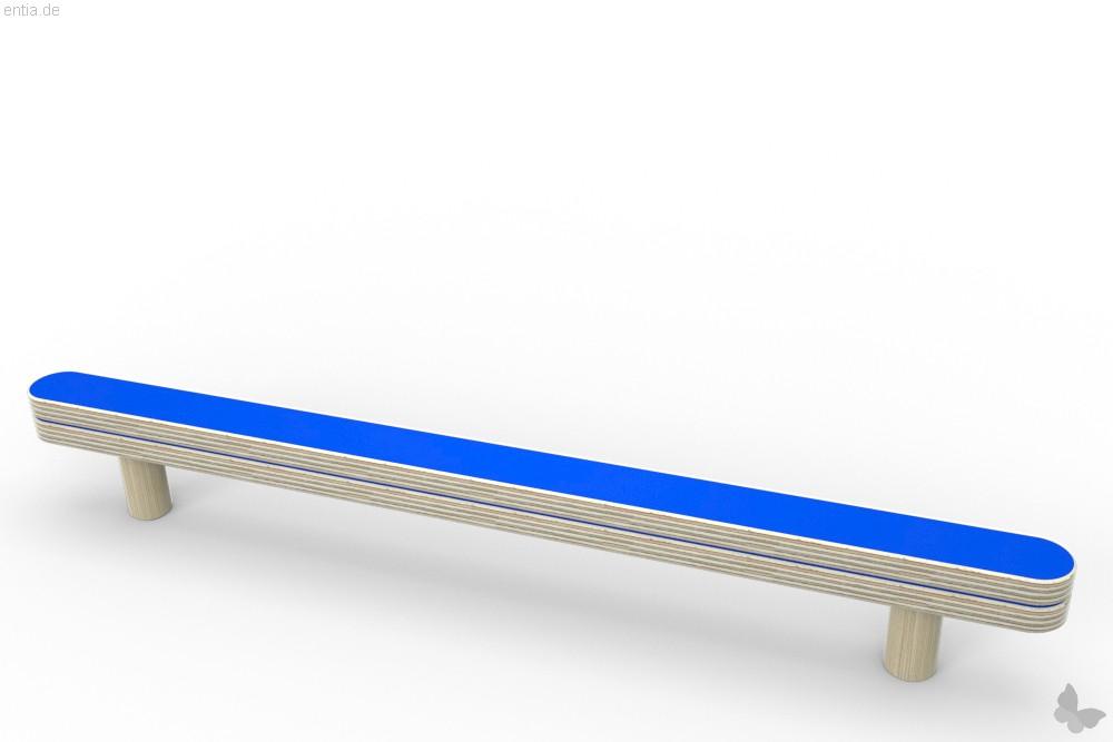 """""""growing table"""" Führung und Abreißschiene - enzianblau"""