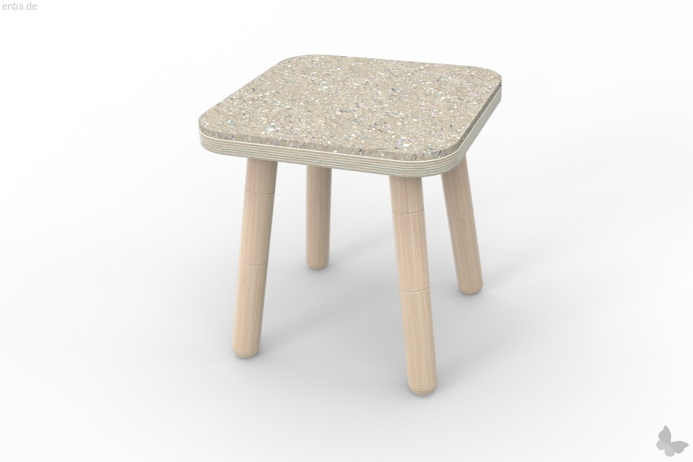 """growing table"" Sitzfilz für Hocker"