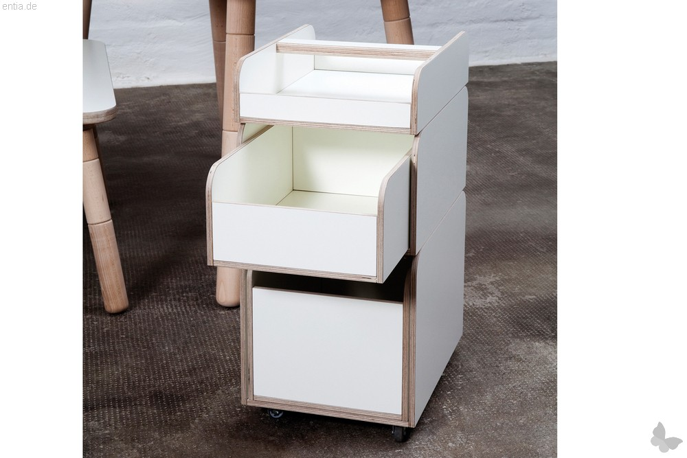 """""""growing table"""" spaces Container - reinweiss"""