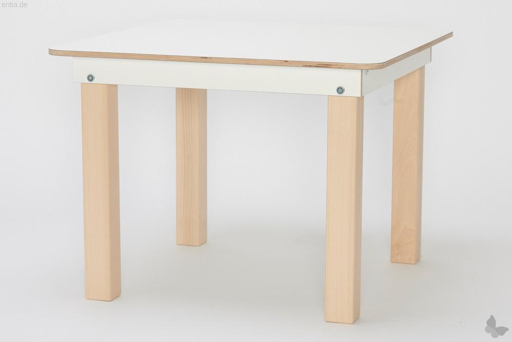 """""""Start Up"""" Kinder-Tisch 60x60cm reinweiss"""