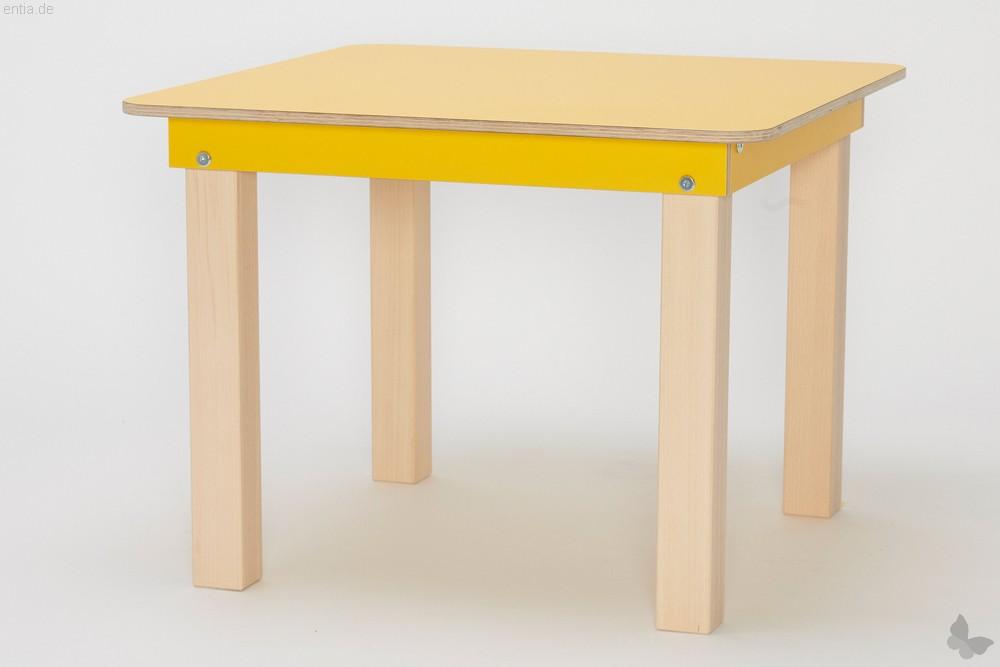 """""""Start Up"""" Kinder-Tisch 60x60cm - sonnengelb"""
