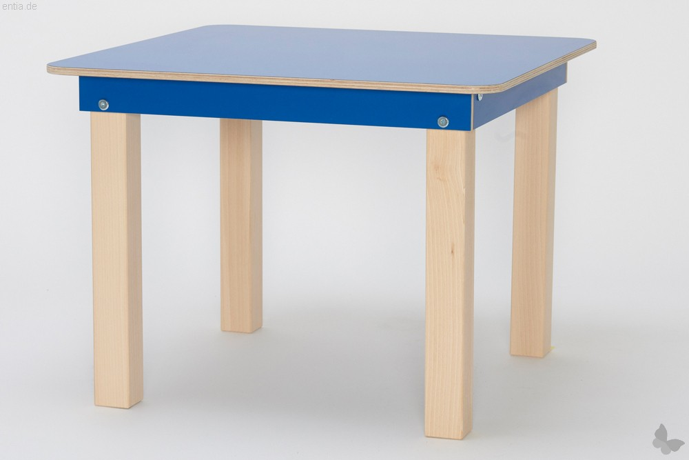 """""""Start Up"""" Kinder-Tisch 60x60cm - enzianblau"""