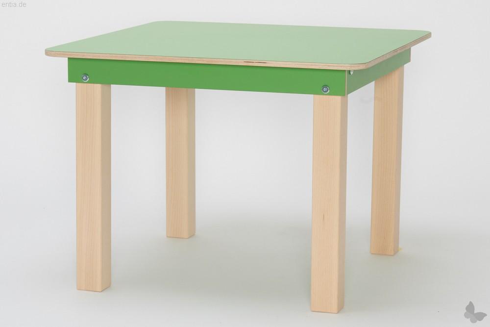 """Start Up"" Kinder-Tisch 60x60cm - maigrün"