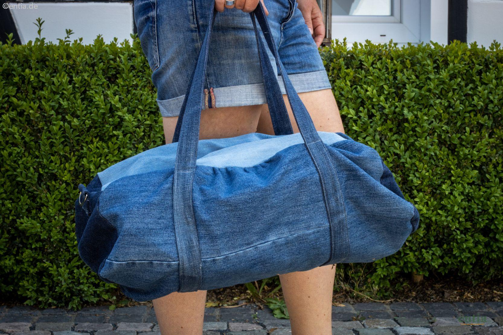Sporttasche Jeans