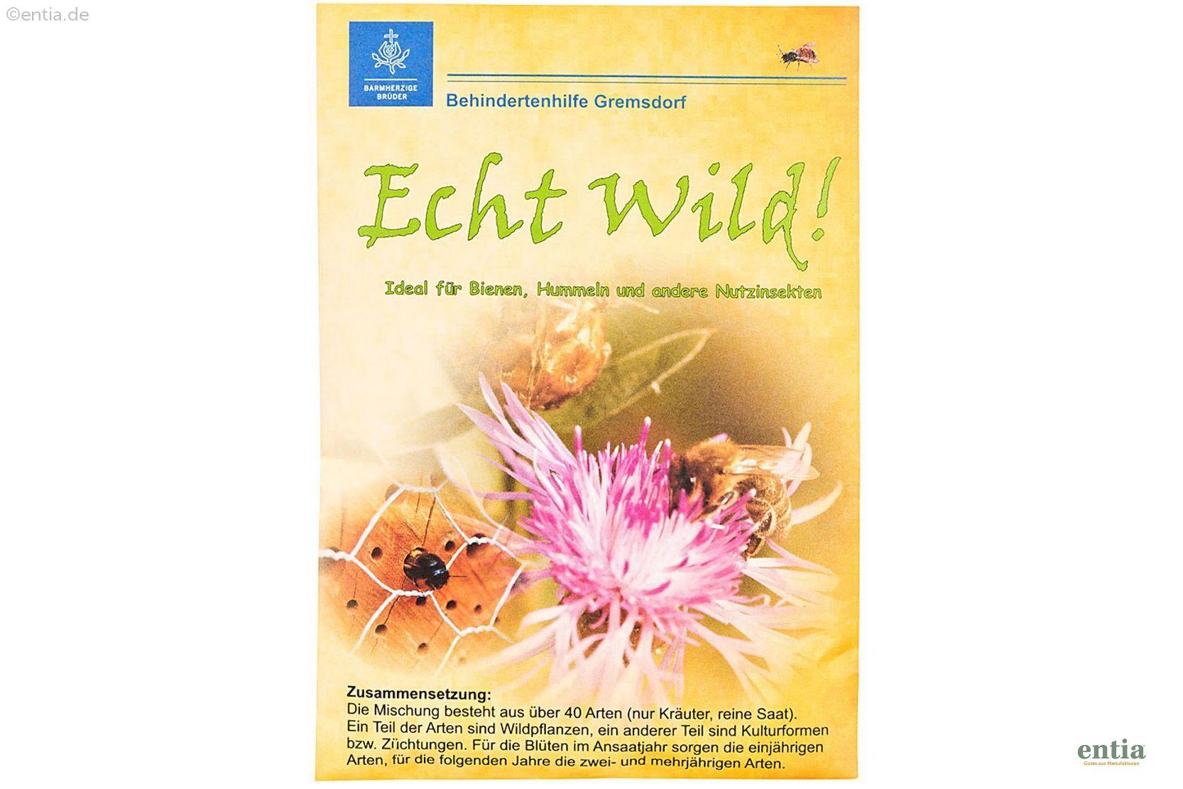 Echt Wild - Wildblumensamen
