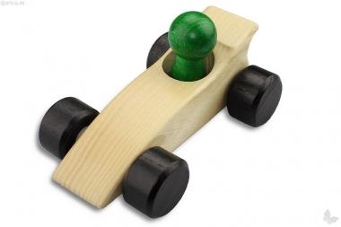 Holzauto Rennwagen