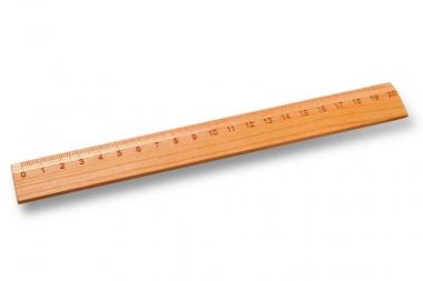 Lineal 20 cm Kirsche
