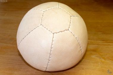 Gymnastik-Lederball, natur