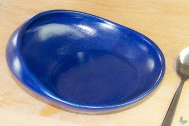 Esshilfe Teller blau