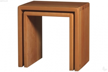 Hocker-Set Erle groß