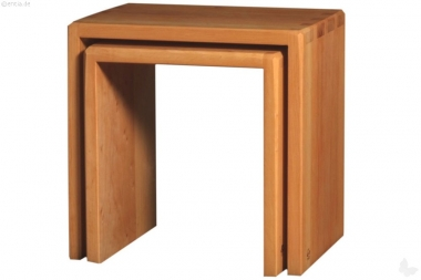 Hocker-Set Erle klein